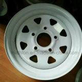 8X7 8X10 8X12 4X12 Steel Trailer Wheel for USA