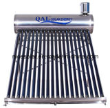 2014hot Sell Competitive Price Compact Non Pressure Solar Water Heater Stainless Steel 200L