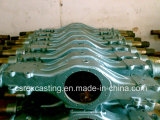 Cast Steel Automobile Spare Parts Front Axle Housing Casting