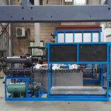 Automatic Containerized Block Ice Machine with Direct Evaporative Refrigeration System