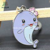 Best Selling Cheaper Price Zinc Alloy Metal Custom Dolphin Keychains