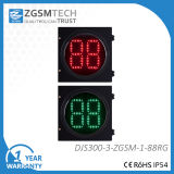 300mm LED Traffic Signal Lamp with 2-Digital Countdown Timer PC Aluminum Housing