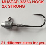 a New Designed for Freshwater and Saltwater Big Fish Jig Head