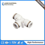 Hydraulic NPT Thread Plastic PU Tube Pneumatic Connector Fitting