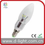 LED Bulb 230lm E14 Candle 3W 270 Beam Angle