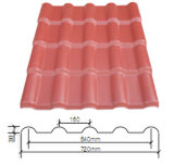 Type PVC/Asa Synthetic Resin Roof Tile R720