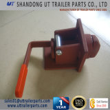 Single Container Revolving Twist Lock for Truck and Trailer