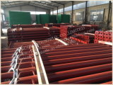 Painted Metal Support Poles Scaffold Strut / Pipe Support
