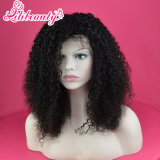 with Natural Hairline Indian Women Human Hair Full Lace Wigs