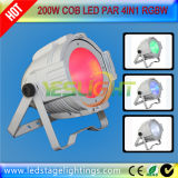 Professional Stage Lighting 200W 100W RGBW 4in1 COB LED PAR for Stage Wash