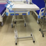 Factory Direct Price ABS Material Overbed Hospital Table, Used Hospital Bedside