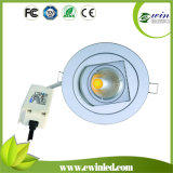 90lm/W 15W Rotatable LED Downlight with CE RoHS