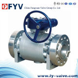 High-Pressure Forged-Steel Trunnion Mounted Ball Valve