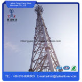 Galvanized Self Supporting Steel Lattice Tower for Telecommunication