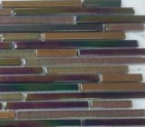 Colorful Strip Glass Mosaic Tile (MA-GS1037)
