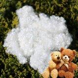 Teddy Bear Stuffing Fiber Siliconized White Polyester Fiber Hcs Polyester Staple Fiber