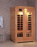 Monalisa 2 Person Light Room Sauna Room Khan Steam Room The Canadian Red Pine Computer Controlled Sauna (I-002)