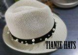 Fashion Hat Machine Weave Hat Lady Hat