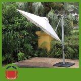 White Color Samll Side Post Umbrella for Sale