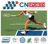 Factory Hot-Sale Rubber Tennis/Basketball/Badminton Spu Sports Flooring
