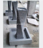 Grey Granite Carving Water Feature/ Fountain