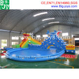 CE Popular Water Park Slide with Pool (water park-18)