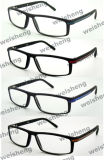 Sr3486 Fashion Black Frames Plastic Reading Glasses Eyewears