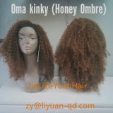 "20""Long Braid Kinky Curly Synthetic Hair Wig for Black Women China"