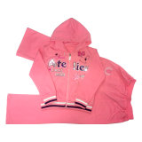 Kids Girl Sports Suit Clothes for Children′s Wear Sq-6667