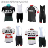 White Team Cycling Jersey Bike Shorts Set