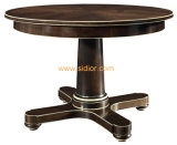 (CL-3323) Antique Hotel Restaurant Dining Furniture Round Wooden Dining Table