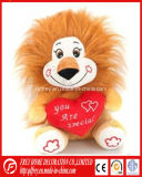 Cute Plush Toy of Soft Lion for Valentine′s Day