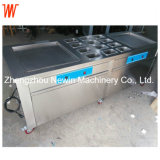 Double Cold Pan Thailand Rolled Fried Ice Cream Machine
