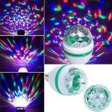 3W RGB LED Crystal Magic Ball Light LED Rotating Color LED Light