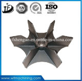 Cast Steel Precision/Investment Casting Fan Wheel Parts with Machining