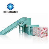 Hellobaler 10tons Capacity Automatic Baling Machine with Conveyor Hfa10-15