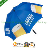 Automatic Beer Promotional Golf Umbrella with Printed Logos (GOL-0030F)