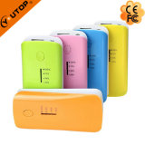 Elegant Portable Power Bank with LED Torch 4000/4400/5200/6000mAh (YT-PB04)
