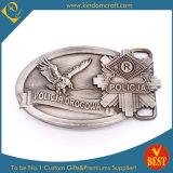 Custom Antique Silver Powerful Eagle Metal Belt Buckle