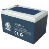 E-Bike Battery 12V 14AH with CE UL Certificate Called SP6-DZM-14
