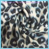 Light Weight Leopard Printed Rayon Fabric for Lady Clothing