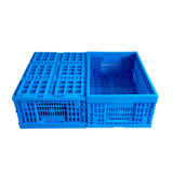 600X400X255 Folding Plastic Mesh Basket for Fruit and Vegetables