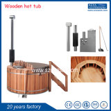 20 Years Factory Outdoor SPA Hot Tub Red Cedar Wooden Round Hot Tub