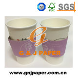 Corrugated Paper Coffee Cup Sleeve with Logo