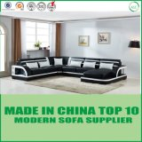 Contemporary Italian Home Furniture Corner Modern Leather Sofa