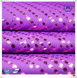 Polyester Spandex Foil Print Fabric for Fashion Wear