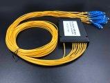 Gpon Telecommunication Colored Fiber 1X8 PLC Splitter Systems