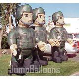 Inflatable Balloon Military Soldiers, Inflatable Army (B3044)