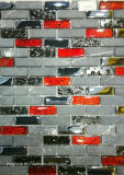Short Strip Mix Stone Glass Mosaic Jy46k