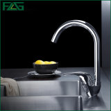 Flg One-Handle Chrome Kitchen/Sanitary Ware Faucet/Tap
